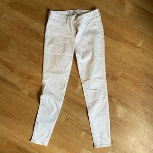 White High Waisted AE Stretch Jeans